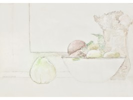 Fruits and Flowers on the Windowsill (Fructe și Flori la Fereastră)