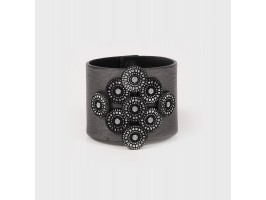 Handmade Orciani Leather Bracelet