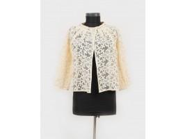 Le Rêve du Michou Ivory Lace Jacket