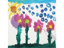 Pe când razele soarelui nu mai ajungeau pe pământ (Gabriel, 5 ani)