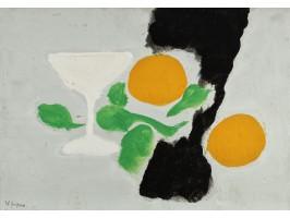 Still Life with Lemons and Cup (Natură Statică cu Lămâi și Cupă)