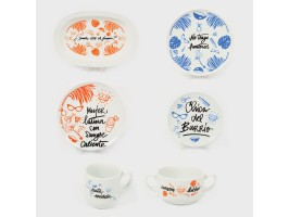 Chicas Bravas Tableware by Chicineta