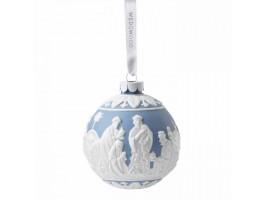 "Wedgwood Decorations Set of 4 ""3 Wise Men"", Blue Jasper"