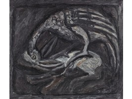 Pheasant Drinking from a Pond