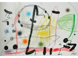 Maravillas con Variaciones Acrosticas en El Jardin de Miró, Plate 13