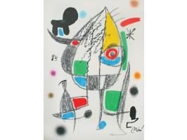 Maravillas con Variaciones Acrosticas en el Jardin de Miró, Plate 20