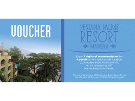 Pestana Palms Resort Madeira 7 Nights Accommodation for 4 People