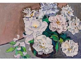White Peonies (Bujori Albi)