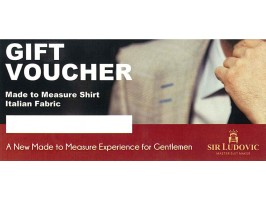 Sir Ludovic made-to-measure shirt, high-quality Italian fabric