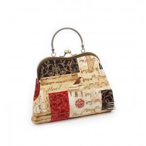 All that Jazz Clutch Bag