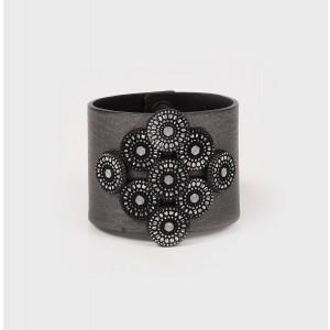 Handmade Orciani Leather Bracelet