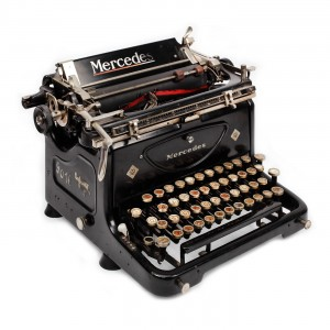 Mercedes Typewriter