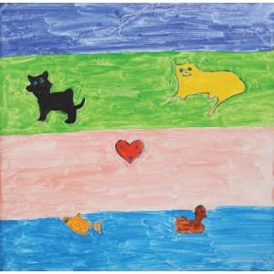 Cum se spală inimile de copil (Istvan, 4 ani și mămica lui)
