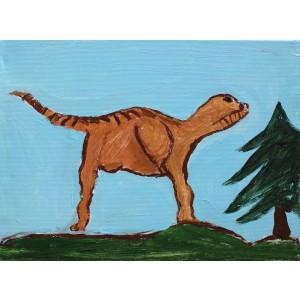 Dinozaurul rătăcit (David, 6 ani)
