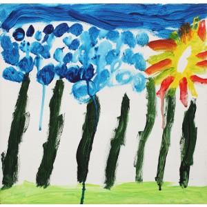 Copacii de la începutul lumii (David, 6 ani)