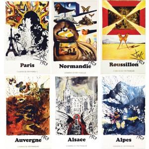 Alpes, Normandie, Auvergne, Alsace, Paris, Roussillon 1969