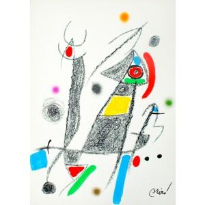 Maravillas con Variaciones Acrosticas en el Jardin de Miró, Plate 6