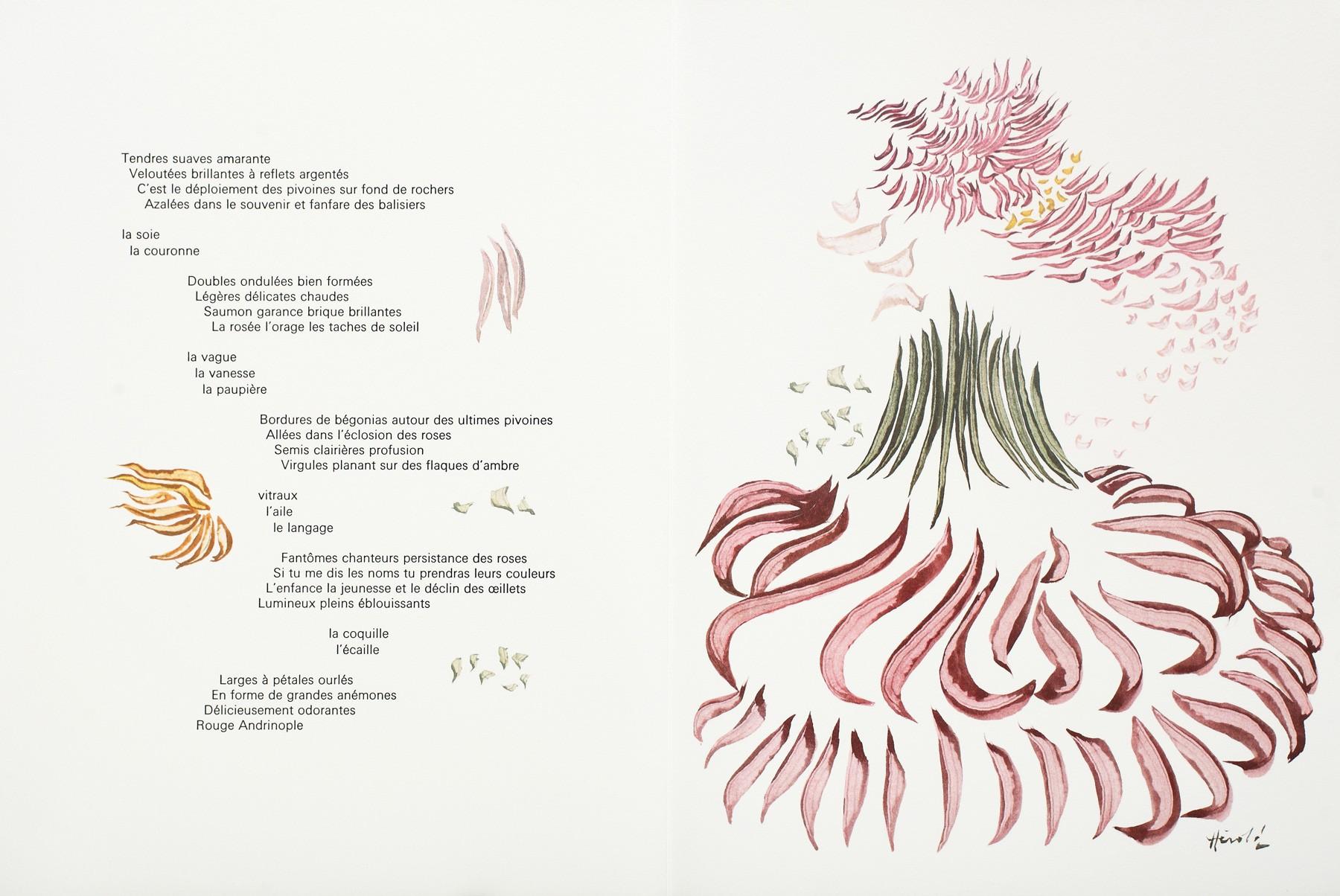 Lot 16, Jacques Hérold - Passage de Fleurs. Map with 5 engravings ...