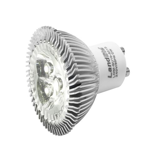 3W GU10 LED Replacement Bulb