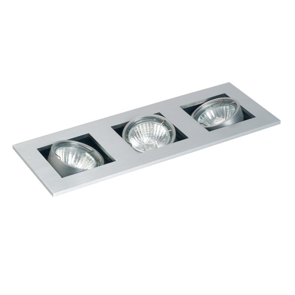 Gu10 Studio Tilt Ceiling Spotlight Triple