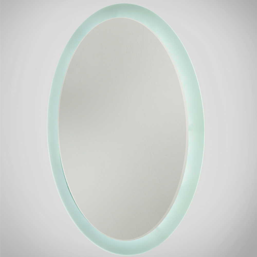 Oval LED Illuminated Bathroom Mirror