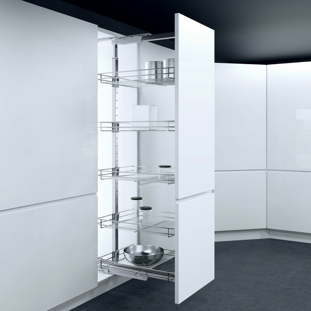 Vauth sagel hsa pull out larder units 300mm cabinet width for 300mm tall kitchen unit