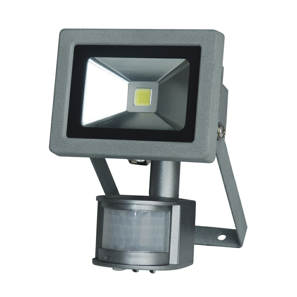 Kinver 12W Outdoor LED Flood Light With PIR Sensor. Outdoor Pir Led Security Lights. Home Design Ideas
