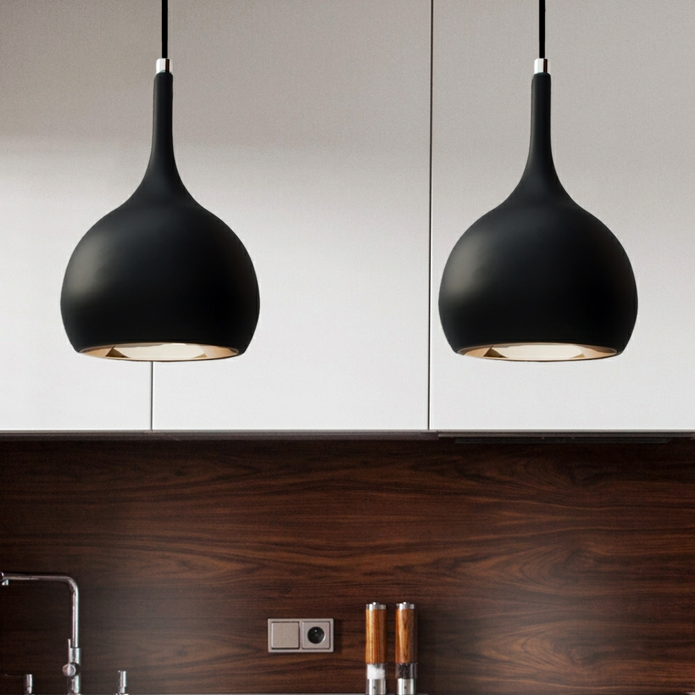 Parma Black Cob Led Kitchen Pendant Lighting