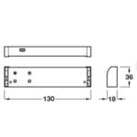 Hafele 12V LED Sunny 3D Wardrobe Lighting