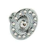 Hafele Handles - Swarovski Crystal Urban Diamond Knob