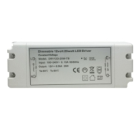 25 Watt Dimmable LED Driver With 6 Way Port