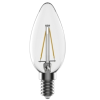 E27 LED Bulb - LED Candle Filament Lamp