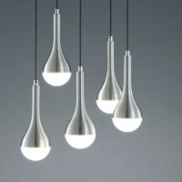 Tear Drop Aluminium And Acrylic Modern Pendant lighting