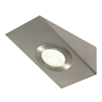 Corsica - Under Cabinet High Output LED Angled Wedge Light