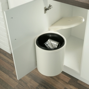 Swing Out Waste Bin, 10 Litres