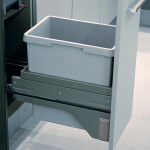 Hailo Euro-Cargo Soft Close 30 Waste Bin, 30 Litre Capacity
