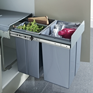 Hafele - Pull-Out Waste Bin, 40 Litres