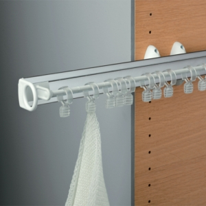 Pull Out Scarf Hanger For Wardrobe Interiors