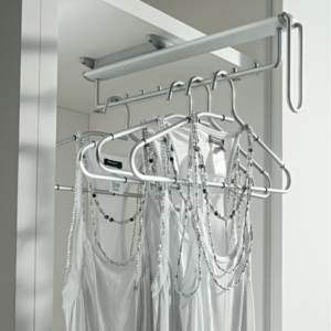 Vibo DREAM Pull Out Clothes Hanger Rail, Under Mounted