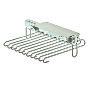 Vibo Pull Out Trouser Hanger, Under Mounted, Off Centre Fitting