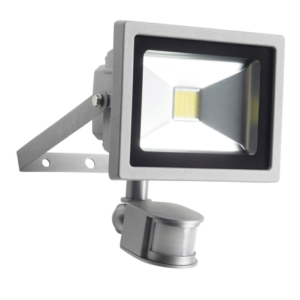 Kinver 25W Outdoor LED Flood Light With PIR Sensor