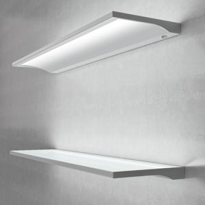 Designer Illuminated LED Floating Box Shelf Light