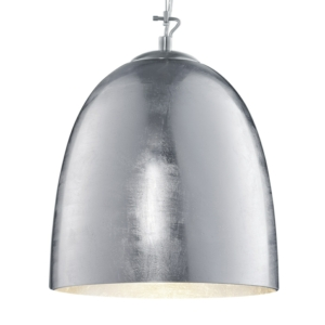 Ontario Silver Glass And Chrome Body Glass Pendant Light