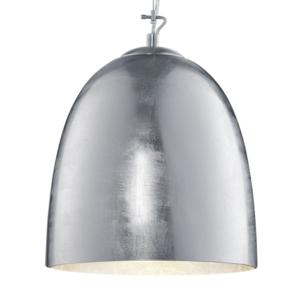 Ontario Silver Glass And Chrome Body Glass Pendant Light
