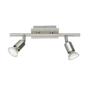 Nimes Twin Head - Contemporary Ceiling Spotlights