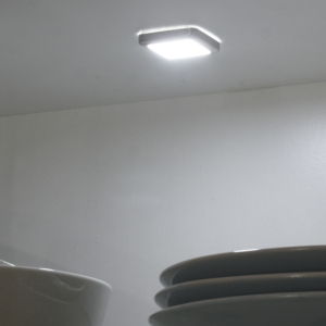 Sirius - Square Surface Mounted LED Cabinet Light