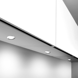 Capella 240V Mains Voltage Recessed Under Cabinet Downlight
