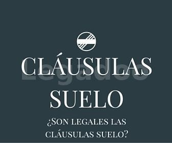 ¿Son legales las cláusulas suelo?