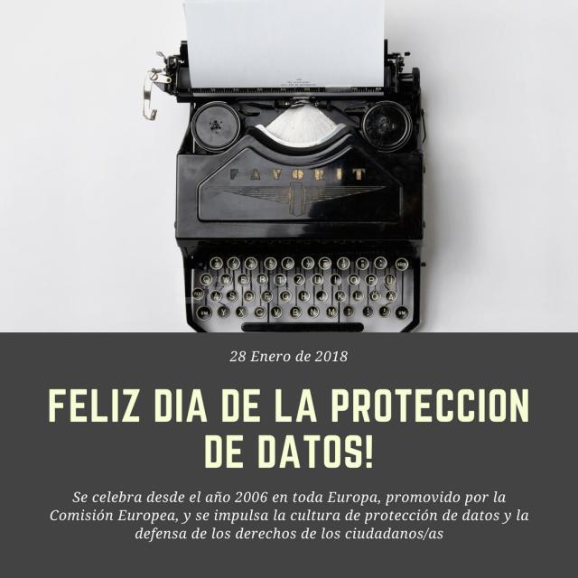 Día de la Protección de Datos, 28 de Enero