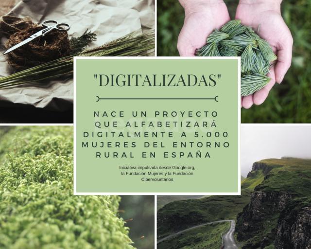 Díez Romeo. Digitalizadas un proyecto para alfabetizar digitalmente al mundo rural español